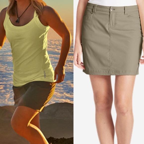 330fb6db9d Eddie Bauer Shorts | Travex Skort Horizon In Skirt | Poshmark